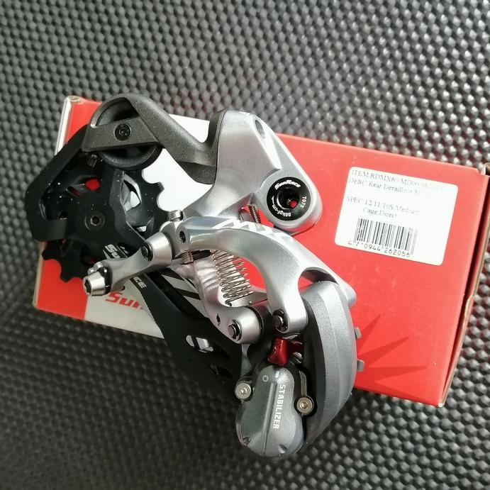 Descarrilador trasero 10-11-12sp SunRace MX60
